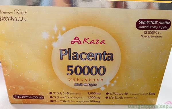 nước uống Kaza Placenta 50.000mg