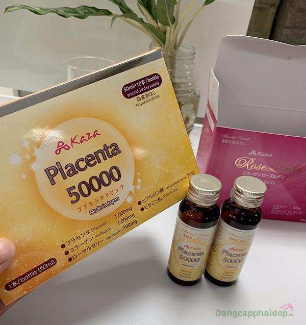 Nước uống Kaza Placenta 50.000mg được ưa chuộng số 1 tại Nhật Bản