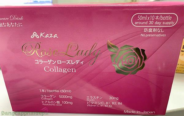 Chú ý cách sử dụng nước uống Kaza Rose Lady 5.000mgđể đạt hiệu quả chăm sóc da tốt nhất.