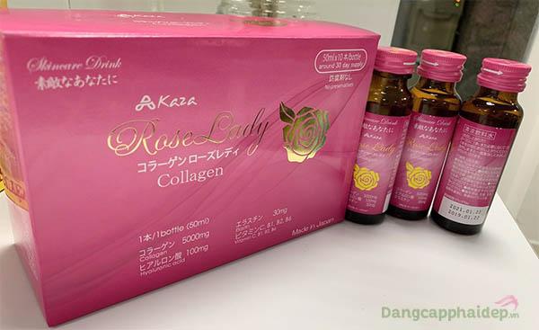 Kaza Rose Lady 5.000mg - Nước Uống Collagen Được Ưa Chuộng Hàng Đầu Tại Nhật Bản