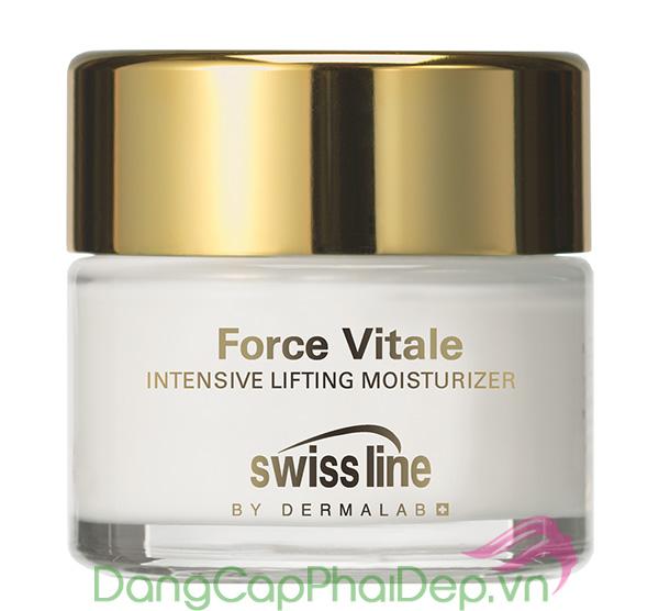 Kem dưỡng ẩm và nâng đỡ da mặt chuyên sâu Swissline Force Vitale Intensive Lifting Moisturizer