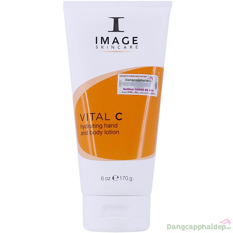 Image Vital C Hydrating Hand and Body Lotion 170g – Kem Dưỡng Ẩm Da Tay Và Body Của Mỹ