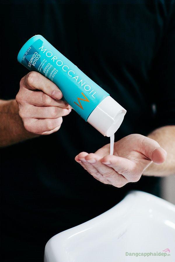 Khách hàng review Moroccanoil Color Continue Shampoo sau khi trải nghiệm sử dụng.