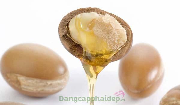 Dầu argan giúp nâng cao độ đàn hồi, dưỡng mái tóc mềm mượt và bóng khỏe.