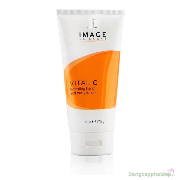 Kem dưỡng ẩm da tay và body Image Skinre Vital C Hand & Body Lotion