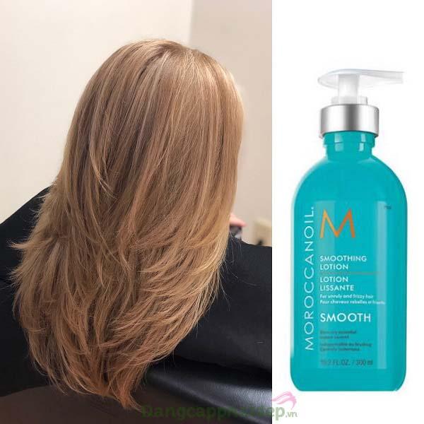 Sản phẩm dành cho mọi loại tóc, đặc biệt dành cho tóc bông xù, khó chải...