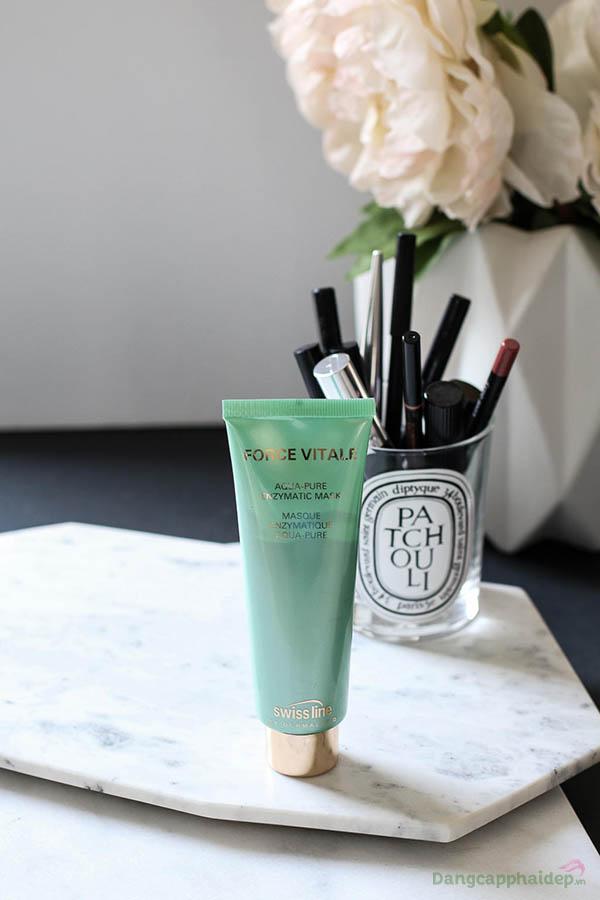 Mặt nạ Aqua-Pure Enzymatic Mask đặc biệt thích hợp cho da quá dầu và nhờn, da mụn