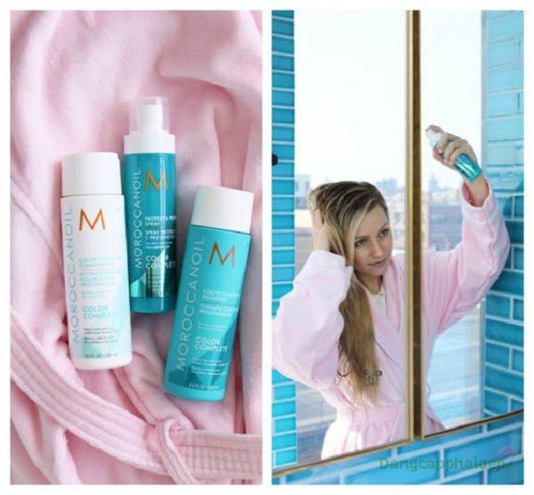 Xịt bảo vệ và ngăn ngừa Moroccanoil Protect & Prevent Spray nằm trong bộ sưu tập Color Complete mới nhất của Moroccanoil.