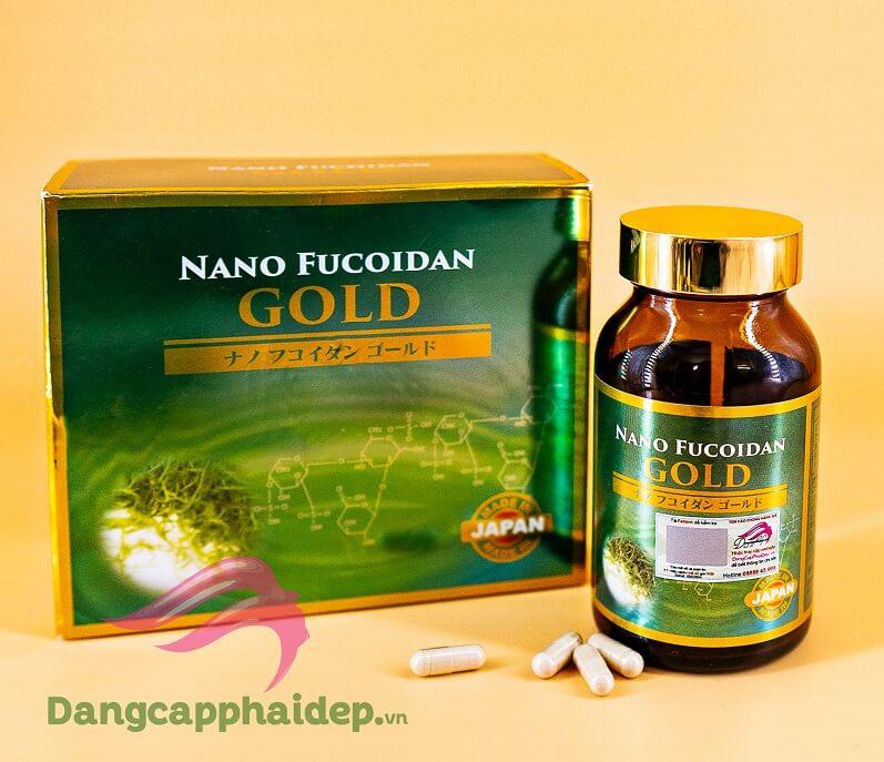 Viên nang phòng ngừa và điều trị ung thư Nano Fucoidan Gold