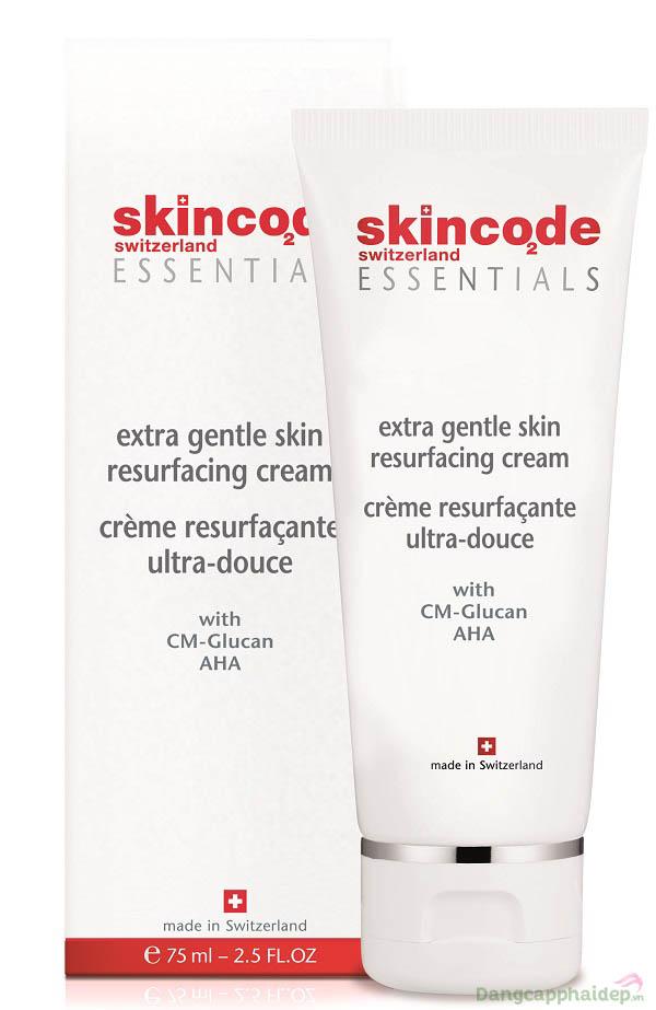 Skincode Extra Gentle Skin Resurfacing Cream đào thải tế bào chết, cải thiện làn da sáng mịn tươi mới