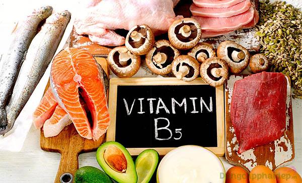 Thành phần chứa Panthenol (vitamin B5)