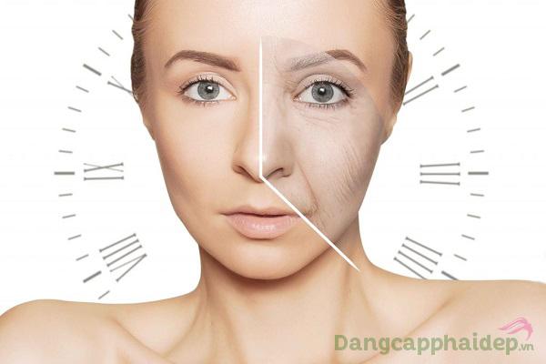 Bước qua ngưỡng tuổi 30+, làn da xuất hiện các dấu hiệu lão hóa như nếp nhăn, da chùng nhão...