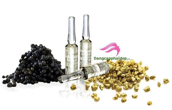 Être Belle Caviar Gold Ampoule dưỡng da chống lão hóa da hoàn từ vàng và trứng cá muối quý hiếm