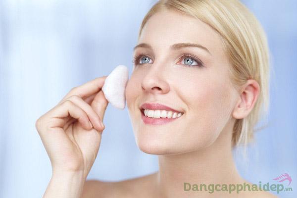 Da sạch sâu hơn, ẩm mượt và dễ dàng hấp thu dưỡng chất sau bước dùng toner.