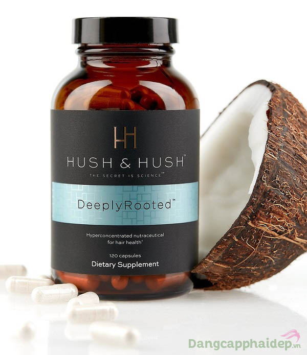 Hồi sinh mái tóc khỏe đẹp, chống rụng tóc hiệu quả chỉ với viên uống Hush & Hush Deeply Rooted