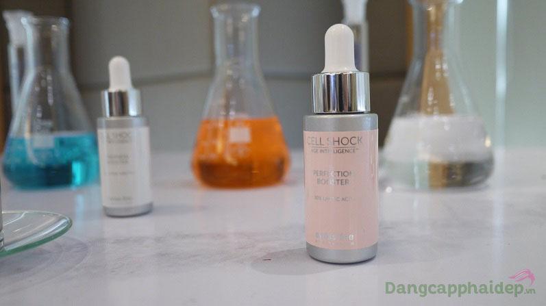 Acid lactic 10% có trong sản phẩm có nguồn gốc 100% từ thực vật
