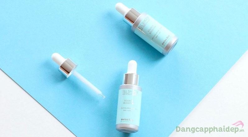 Nếu làn da mất nước, thiếu ẩm hãy sử dụng ngay Swissline Cell Shock Source Booster