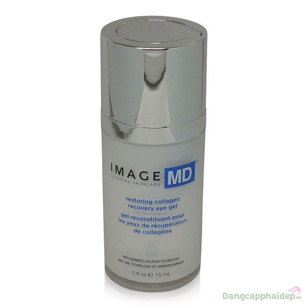 Gel trẻ hóa và tái tạo collagen vùng mắt Image MD Restoring Collagen Recovery Eye Gel