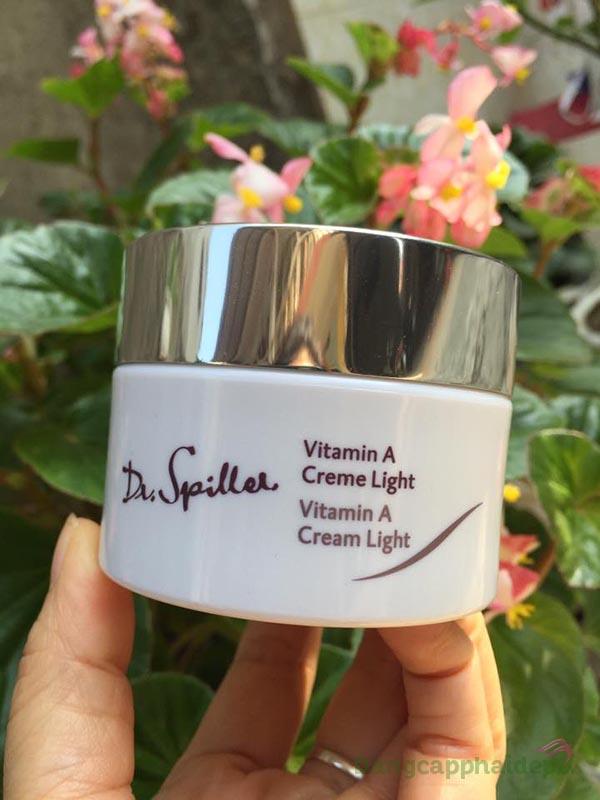 "Dr Spiller Vitamin A Cream Light – ""cải lão hoàn đồng"" làn da lão hóa, kém sắc"