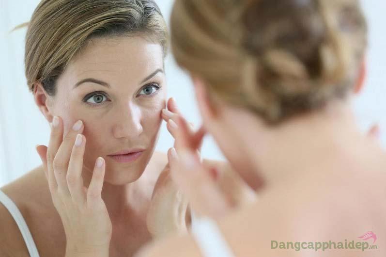 Trước tác động của tuổi tác, môi trường ô nhiễm, da xuất hiện các dấu hiệu lão hóa như chảy xệ, xuất hiện nếp nhăn...