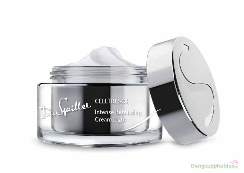 Kem dưỡng giảm nhăn chống lão hóa Dr.Spiller Celltresor Intense Rebuilding Cream Light