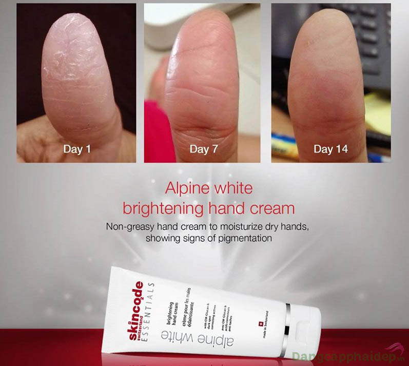 """Skincode Brightening Hand Cream - """"găng tay vô hình"""" dưỡng da tay mềm mại, trắng sáng chỉ sau 14 ngày sử dụng"""