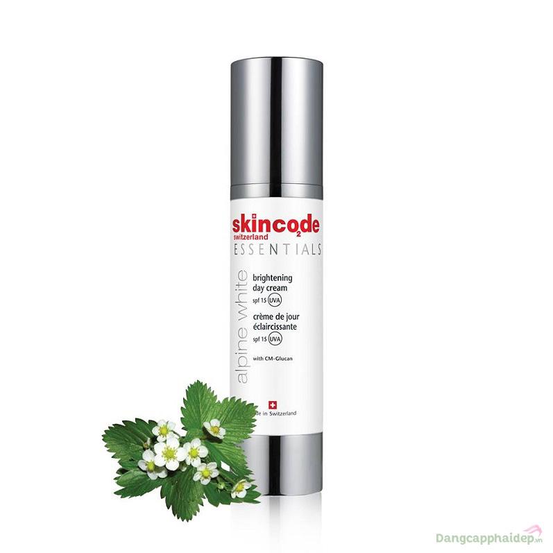 Skincode Brightening Day Cream SPF15 – Không chỉ dưỡng trắng mà còn chống năng, ngăn ngừa lão hóa da hiệu quả