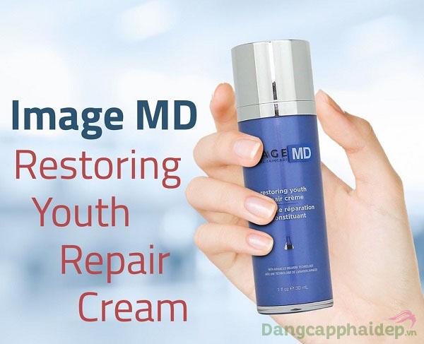 """Image MD Restoring Youth Repair Creme – """"Bí kíp"""" vàng cho làn da trẻ mãi không già"""