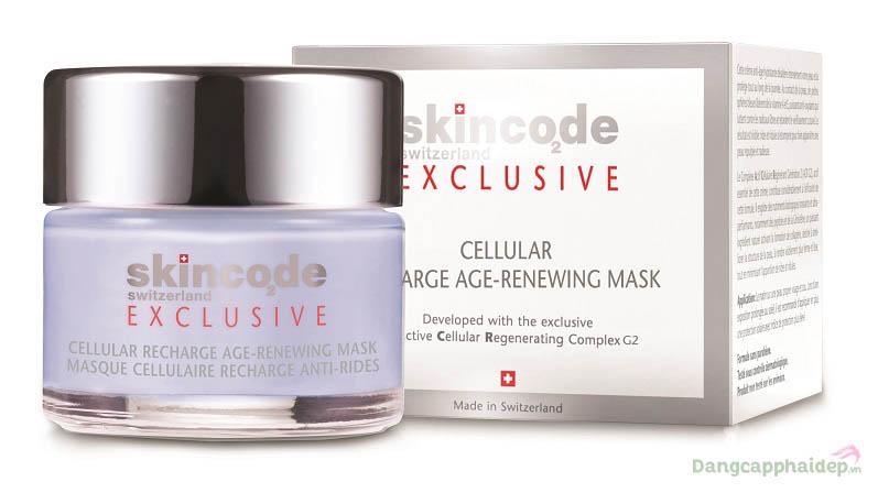 Mặt nạ nâng cơ trẻ hóa da cấp tốc Skincode Cellular Recharge Age-Renewing Mask