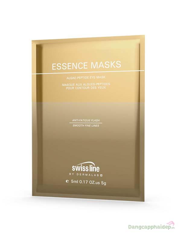 Swissline Essence Masks Algae Peptide Eye Mask – Mặt Nạ Xóa Nhăn, Bọng Mỡ Và Thâm Quầng Mắt