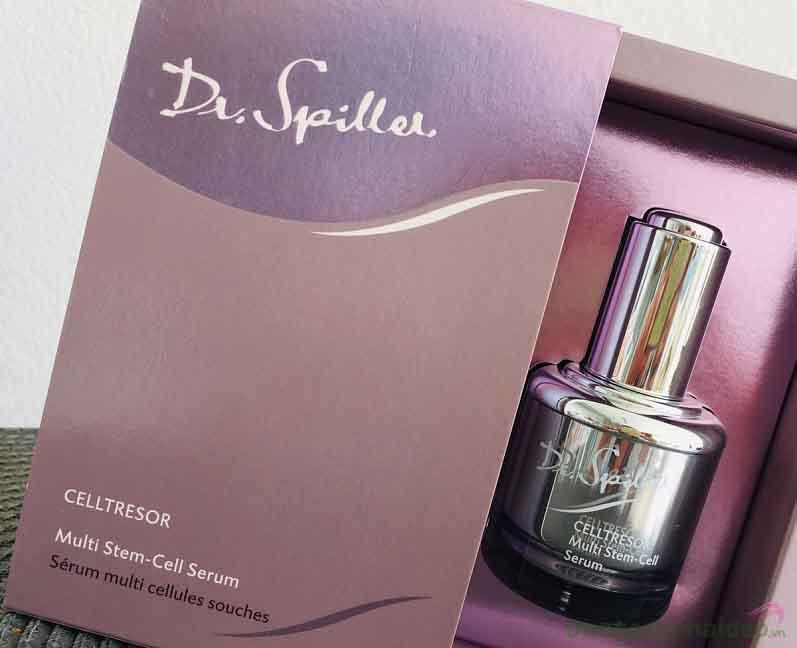 """Dr Spiller Celltresor Multi Stem-Cell Serum - """"Giải pháp"""" tối ưu giúp tái tạo tế bào gốc và chống lão hóa hiệu quả"""