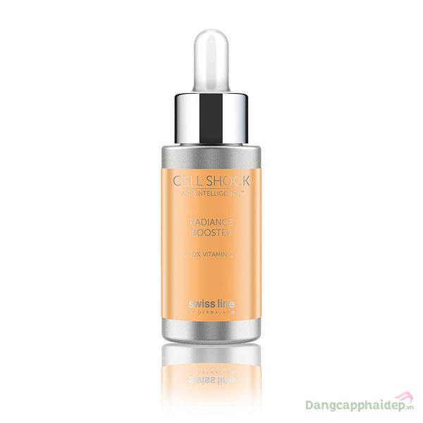 Tinh Chất Làm Trắng Sáng Và Cung Cấp Năng Lượng Cho Da Swissline Cell Shock Radiance Booster Vitamin C 10% - Thụy Sỹ MS 1196