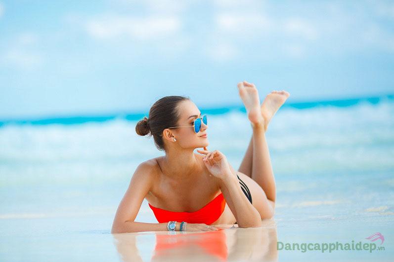 Viên uống chống nắng Sunsafe Rx – Tự tin với làn da sáng trắng mà không ngại bắt nắng