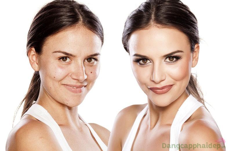 Làn da thay đổi ngoạn mục chỉ sau thời gian ngắn sử dụng Être Belle Skinvision Lift Express Duo