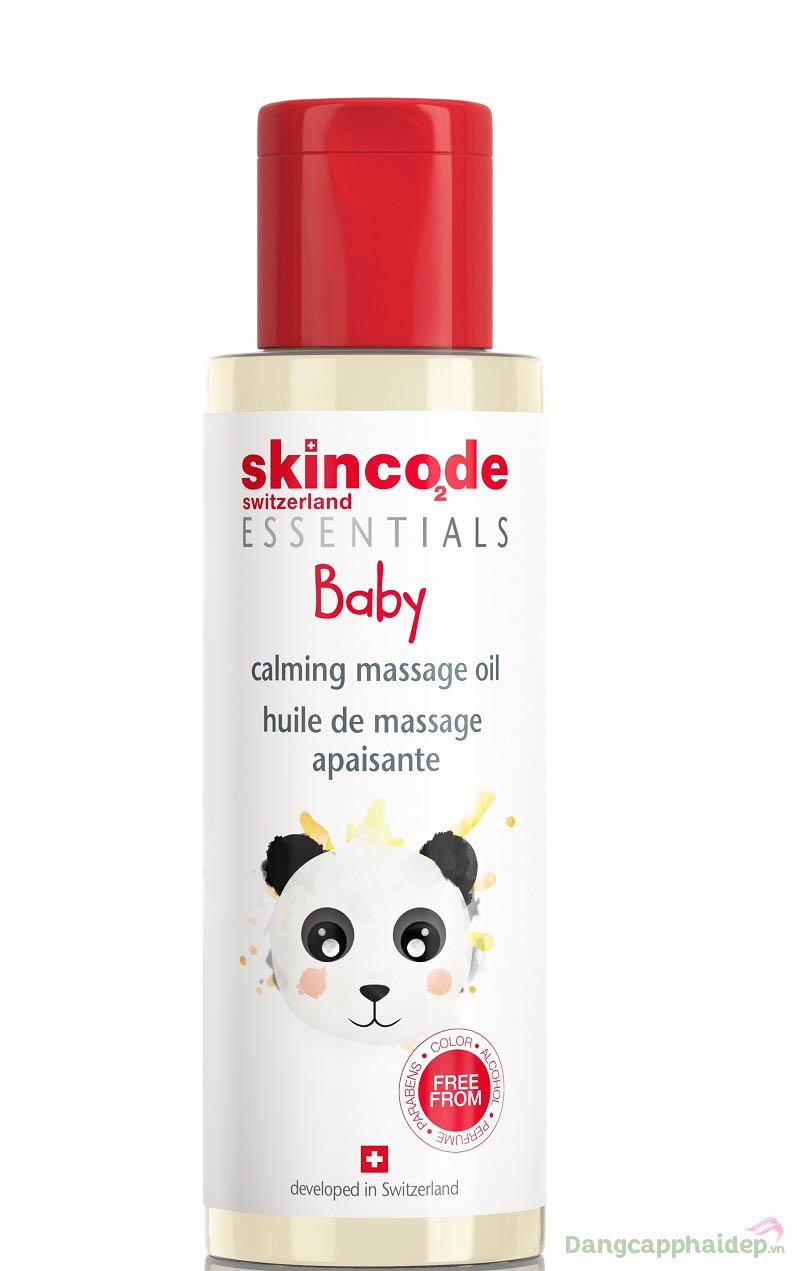 "Tinh dầu massage, bảo vệ da Skincode Essentials Baby Calm Massage Oil – ""Sinh ra"" để nâng niu và yêu chiều làn da của bé"
