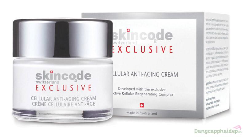 Skincode Exclusive Cellular Anti-Aging Cream 50ml – Kem Nâng Cơ, Xóa Nhăn Và Trẻ Hóa Da Thụy Sĩ