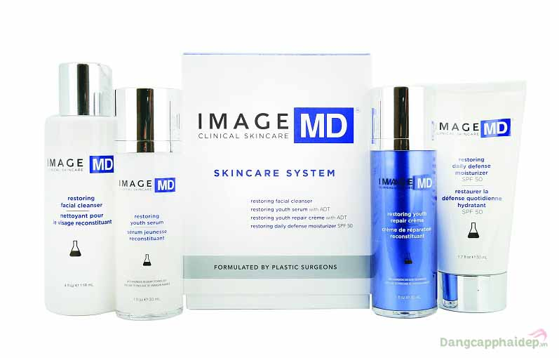 Image MD Skincare System – Bộ Kit Trẻ Hóa Da Nổi Tiếng Số 1 Tại Mỹ