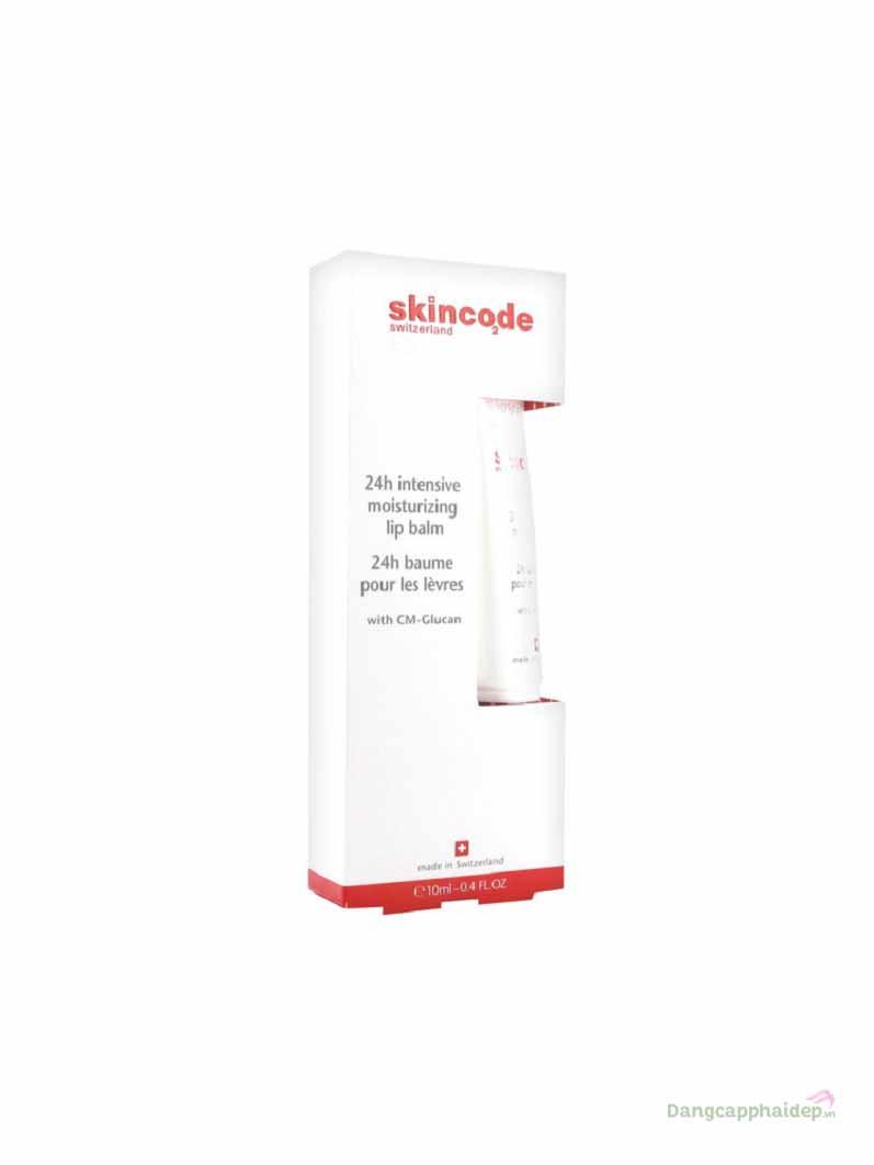 Son Dưỡng Ẩm, Chăm Sóc Môi 24h Skincode 24h Intensive Moisturizing Lip Balm – Thụy Sĩ
