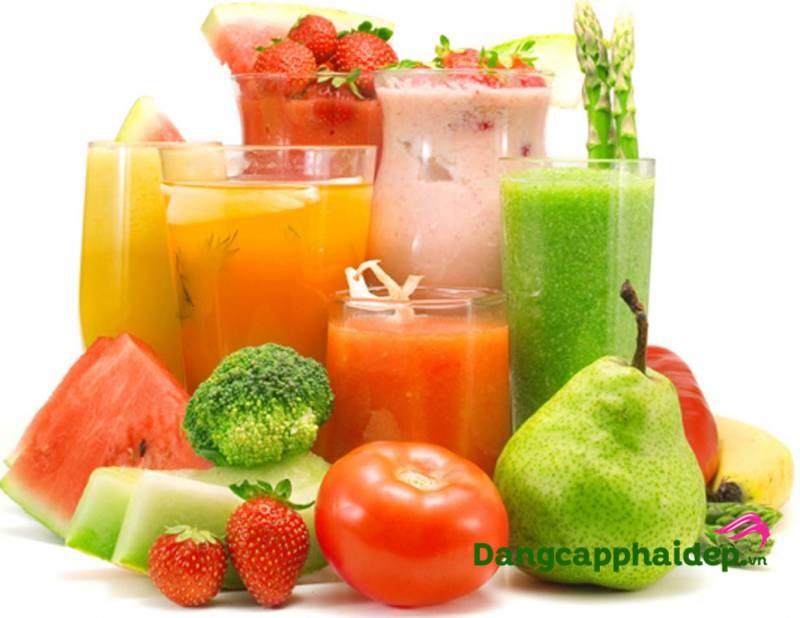 Cách giảm cân hiệu quả với các loại nước uống trái cây