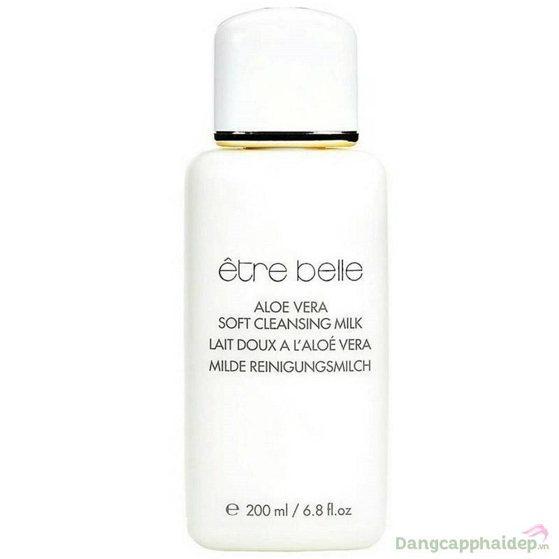 Sữa Rửa Mặt Làm Sạch Da Khô Etre Belle Aloe Vera Soft Cleansing Milk 200ml – Đức