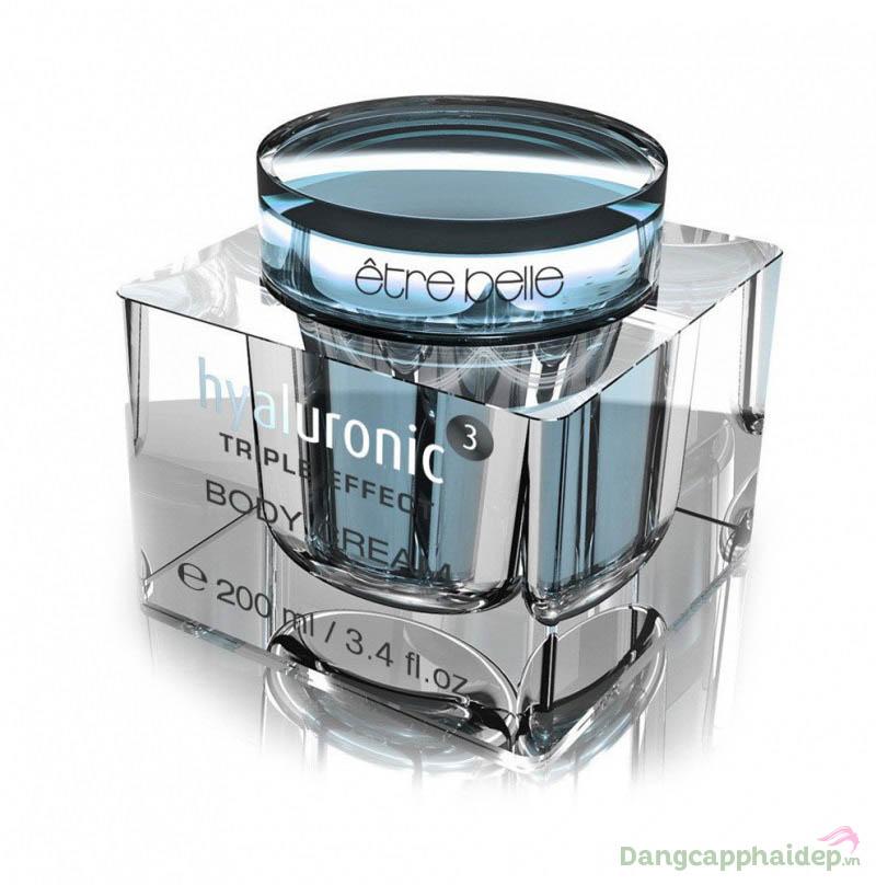 Etre Belle Hyaluronic 3 Body Cream - Kem dưỡng thể chống nhăn cao cấp.