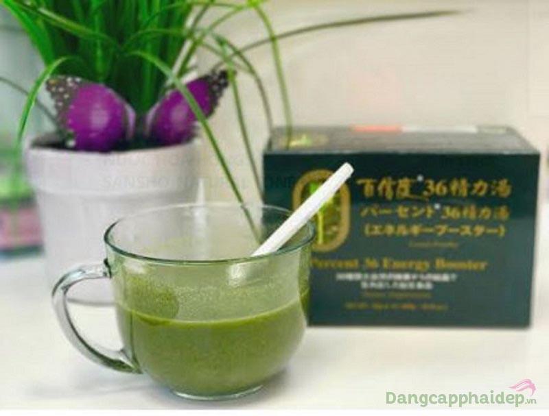 Uống bột dinh dưỡng Nhật Ashitaba từ 2 - 3 lần/ngày.