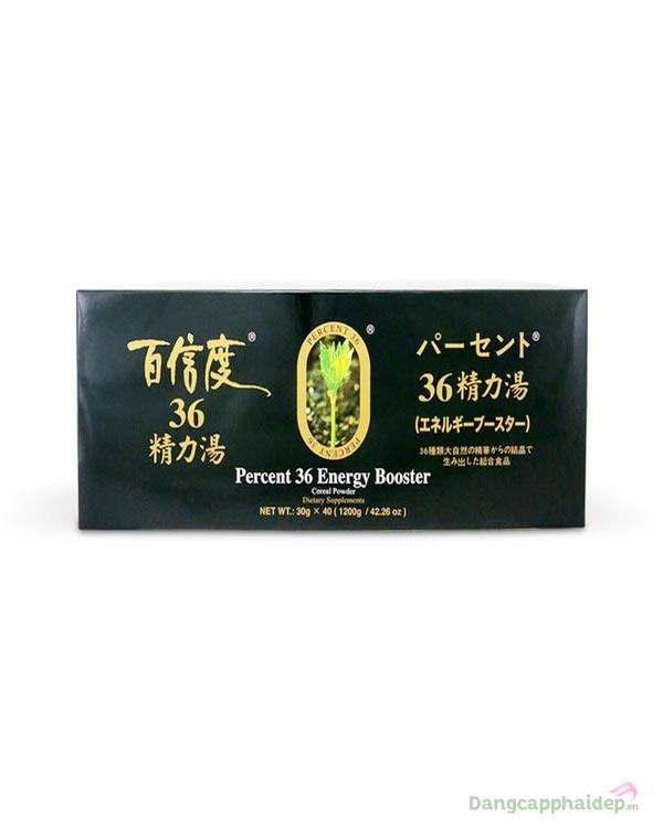 Bột dinh dưỡng Nhật Ashitaba Percent 36 Energy Booster.