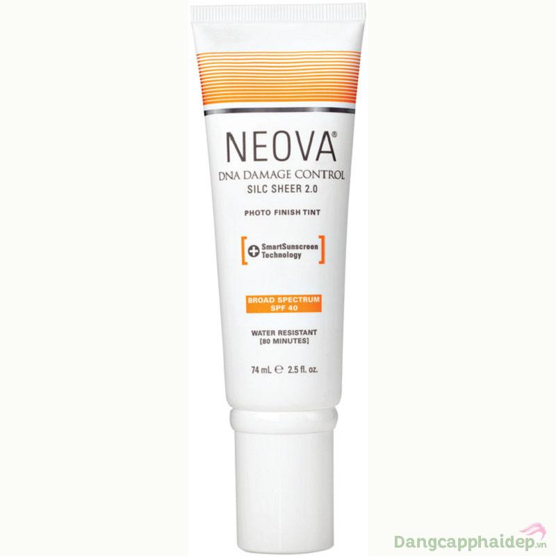 Kem chống nắng bảo vệ da Neova SPF 40 DNA Damage Control Silc Sheer 2.0