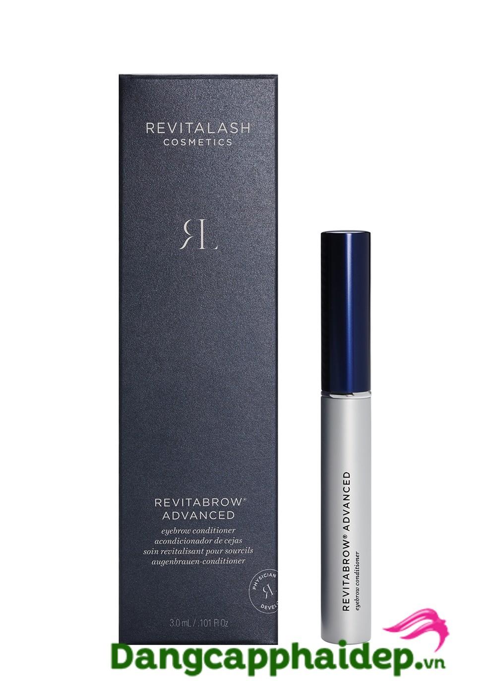 Bí quyết cho hàng lông mày đẹp từ Revitalash RevitaBrow EyeBrow Conditioner
