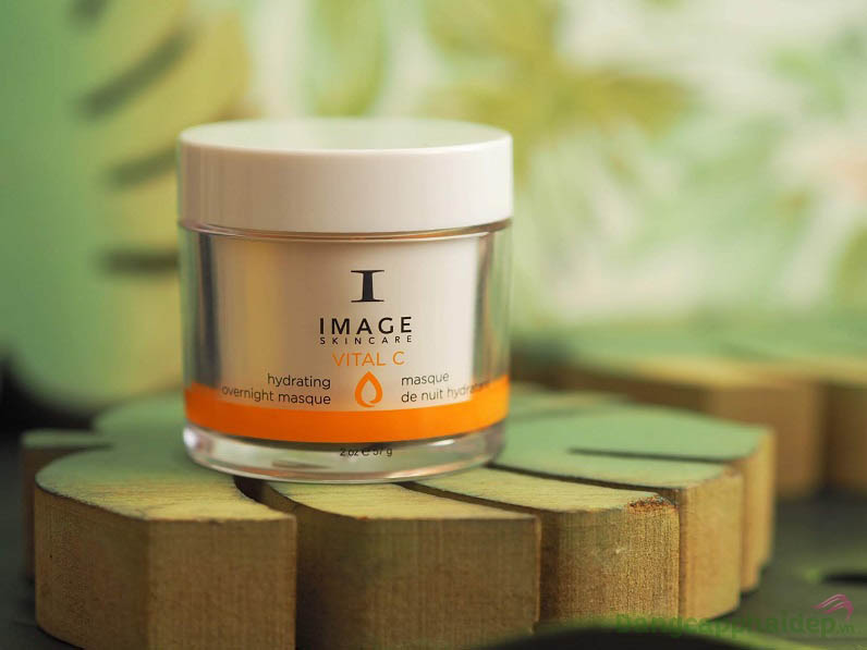 Mặt nạ ngủ Image Vital C Hydrating Overnight Masque mang lại nhiều tác dụng chăm sóc da