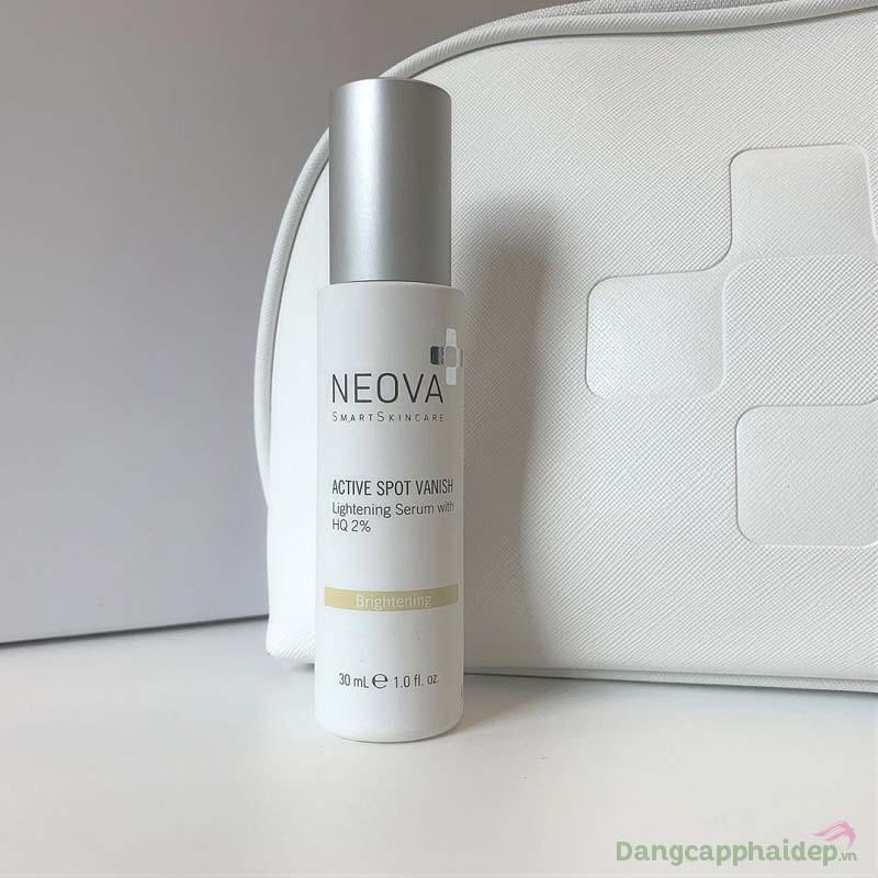 Thành phần là yếu tố đặc biệt giúp Neova Active Spot Vanish phát huy tối đa hiệu quả trị nám, dưỡng sáng da