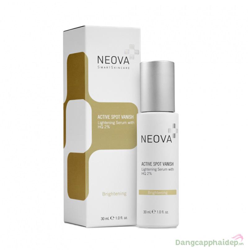 Bạn hoàn toàn có thể loại sạch nám, dưỡng sáng da khi có trong tay serum Neova Active Spot Vanish