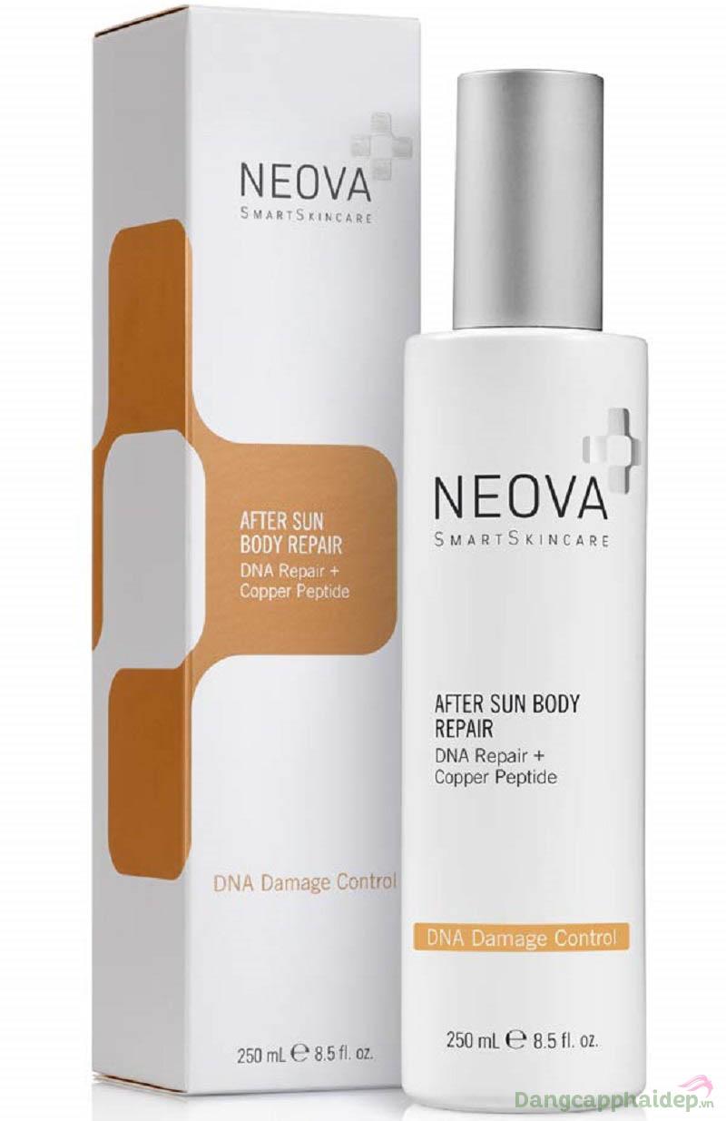 Kem phục hồi da tổn thương do cháy nắng Neova After Sun Body Repair dành cho body.