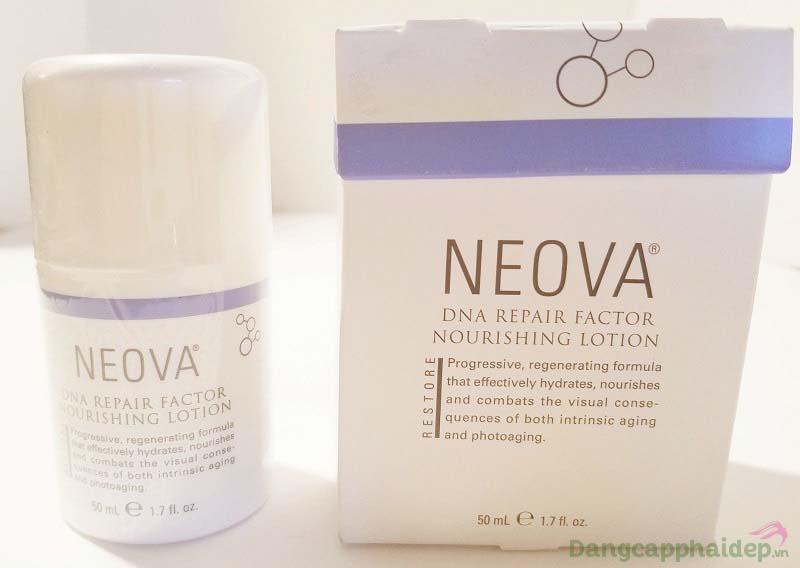 Không lo da lão hóa sớm vì đã có Neova DNA Repair Factor Nourishing Lotion